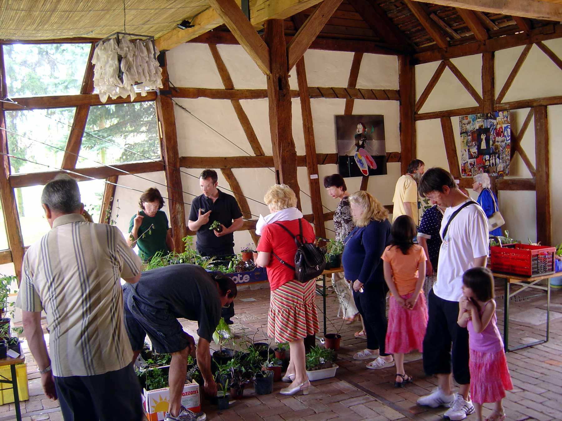 Bourse aux Plantes avril 2008