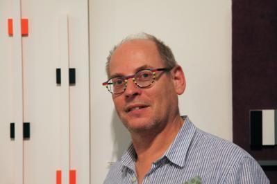 Johannes BlonK devant Stelt Orange 2016