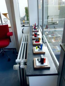 Archi-Mini's in Rietveld woonhuis Utrecht © BlonK 2018