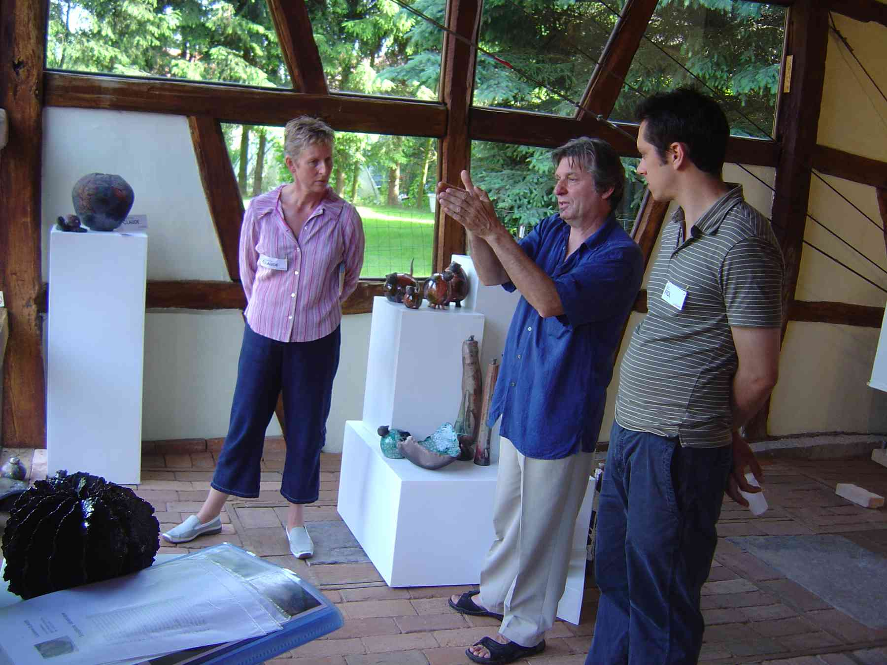 Expo juin 2006, 3 artistes