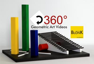 BlonK Geometric Art Videos
