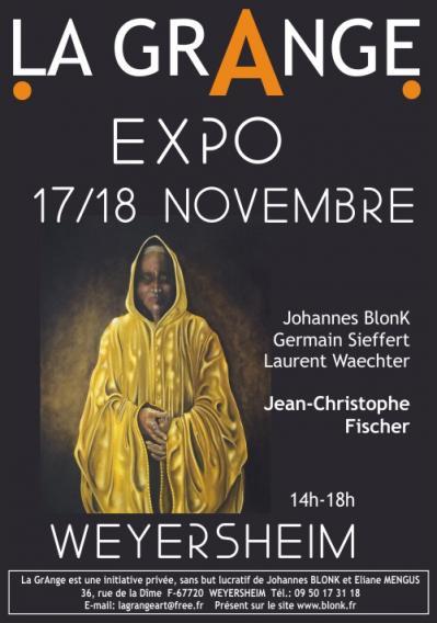 Affiche FISCHER Expo La GrAnge