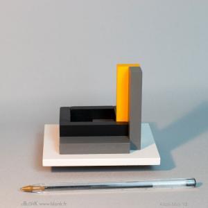 Archi-Mini 1B (ballpoint) © Johannes BlonK