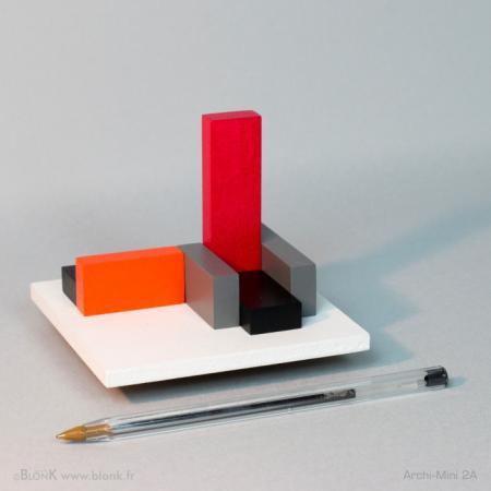 Archi-Mini 2A (ballpoint) © Johannes BlonK