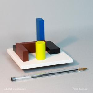 Archi-Mini 3B (ballpoint) © Johannes BlonK