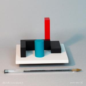 Archi-Mini 3C (ballpoint) © Johannes BlonK