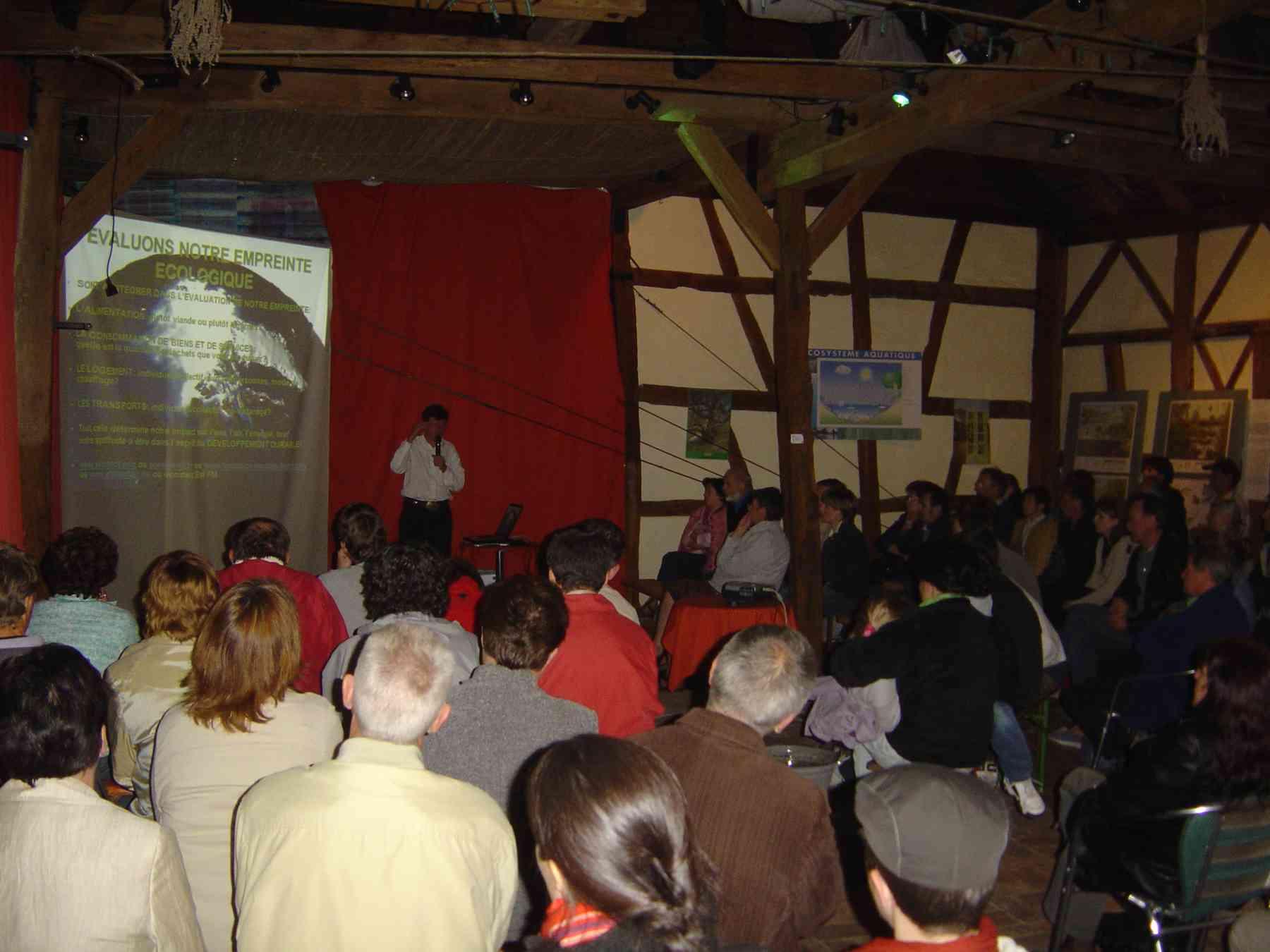 Conférence par Jean-Louis IMBS, salle comble!