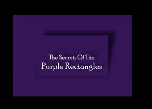 Logo secrets purple rectangles