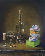 Nature Morte avec médicaments par J.-C. Fischer