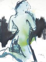 Peinture (Nu15) de Germain SIEFFERT