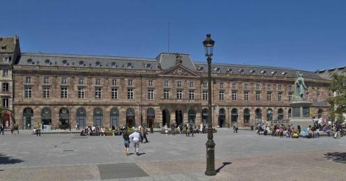 Salle Aubette, Place Kleber, Strasbourg, France