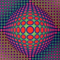 Vega3gd, Vasarely, Fondation Vasarely, Aix-en-Provence