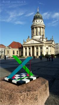 X by Johannes BlonK Berlin Franz.Dom