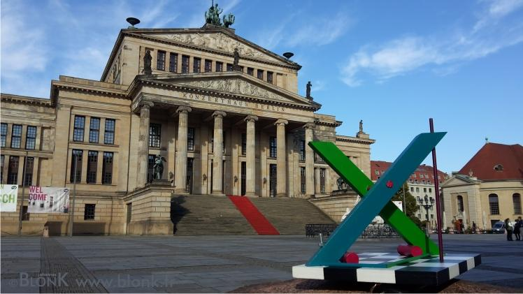X by Johannes BlonK in Berlin, Konzerthaus