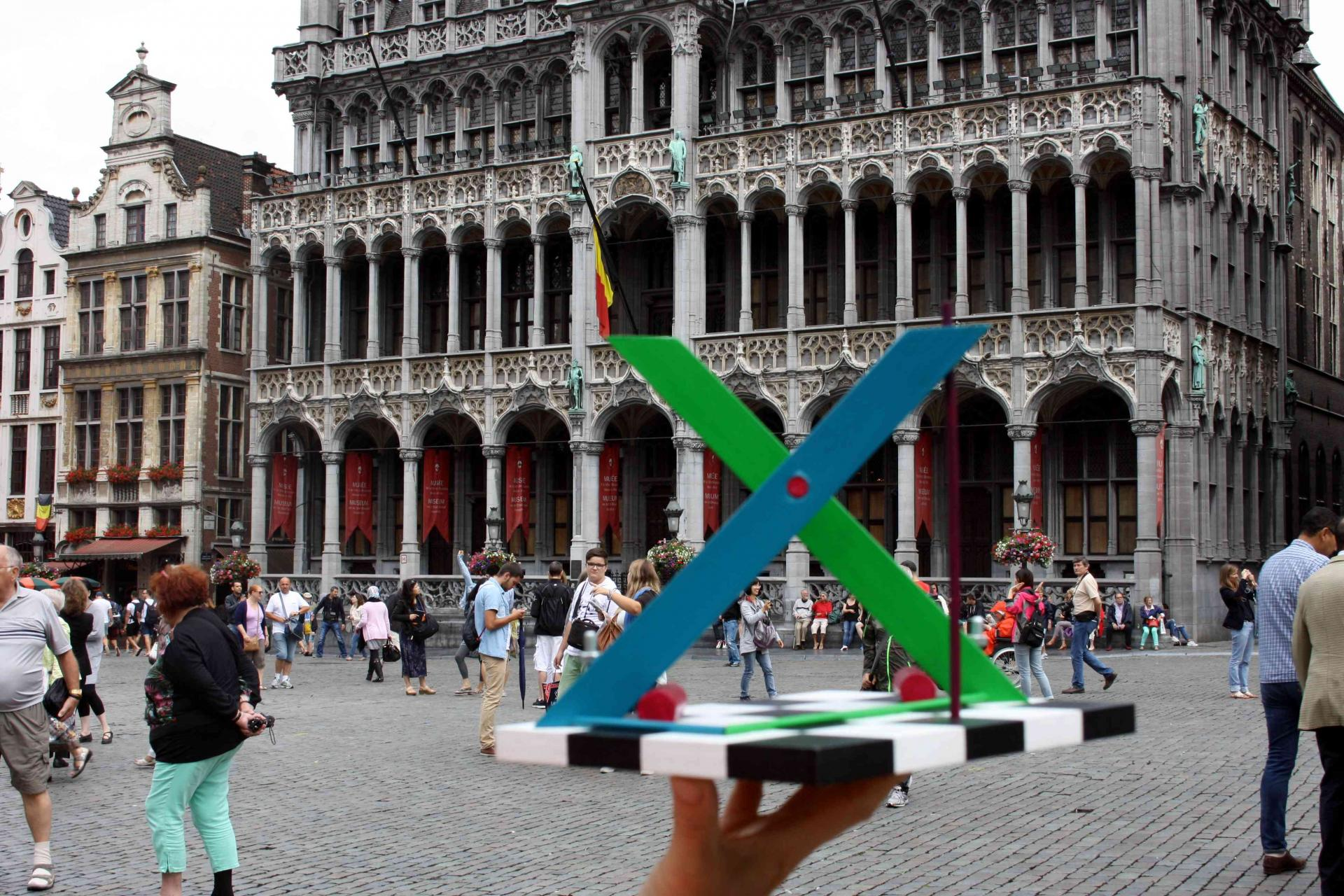 X by Johannes BlonK in Brussels, Belgium