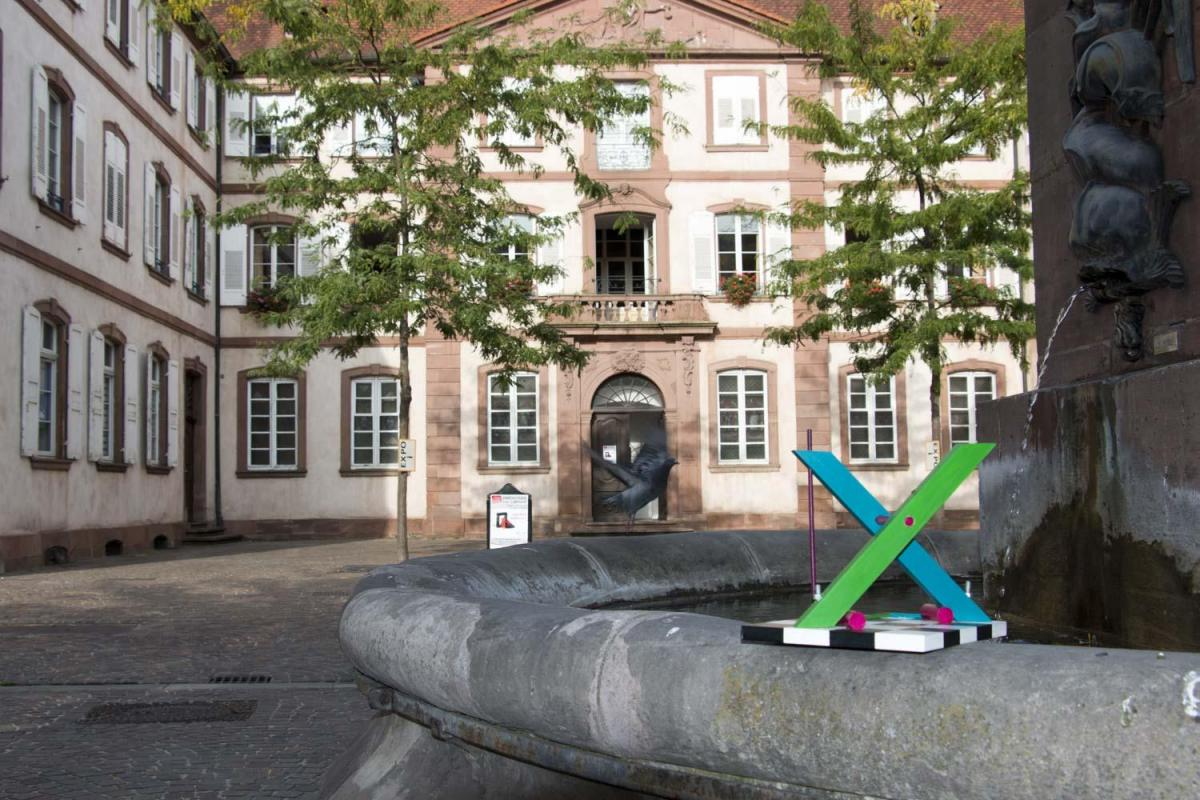 X in Haguenau, France for Solo Exhibition 2020