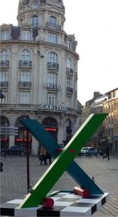 X by Johannes BlonK in Lille (North of France)